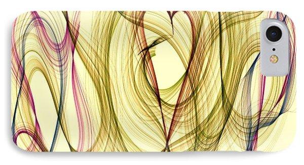Dancing Heart Phone Case by Marian Palucci-Lonzetta