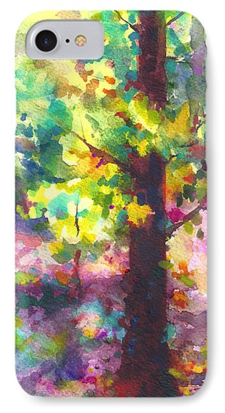 Dappled - Light Through Tree Canopy Phone Case by Talya Johnson