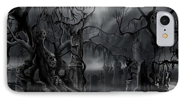 Darkness Has Crept In The Midnight Hour IPhone Case by James Christopher Hill