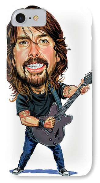 Dave Grohl IPhone Case by Art