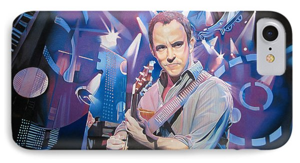Dave Matthews And 2007 Lights Phone Case by Joshua Morton