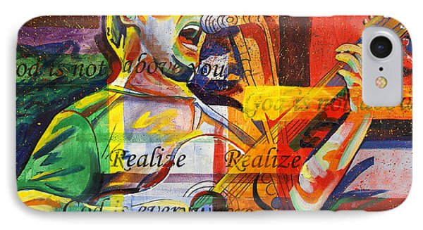 Dave Matthews-bartender IPhone Case by Joshua Morton