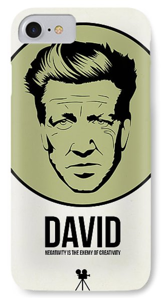 David Poster 2 IPhone Case by Naxart Studio