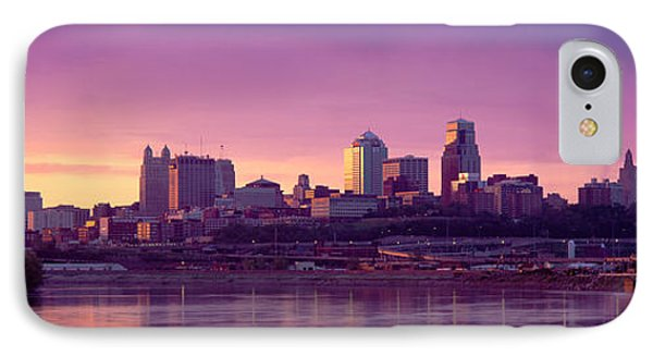 Dawn Kansas City Mo IPhone Case by Panoramic Images