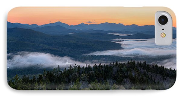 Dawn Over The High Peaks From Goodnow IPhone Case by Panoramic Images