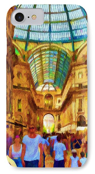 Day At The Galleria Phone Case by Jeff Kolker