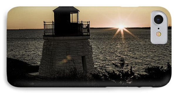 Days End At Castle Hill IPhone Case by Andrew Pacheco