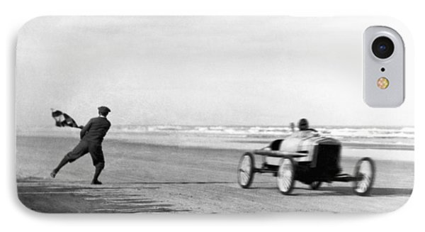 Daytona Beach New Year's Races IPhone Case by Underwood Archives
