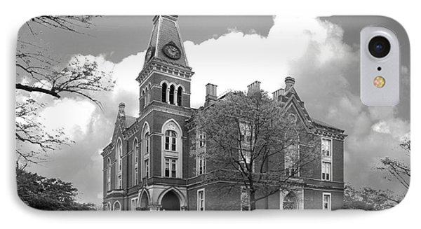 De Pauw University East College IPhone Case by University Icons