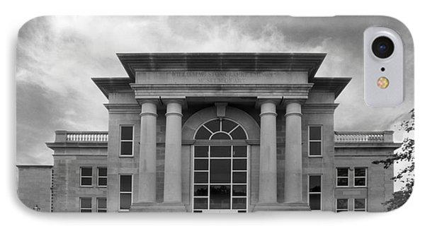 De Pauw University Emison Building IPhone Case by University Icons