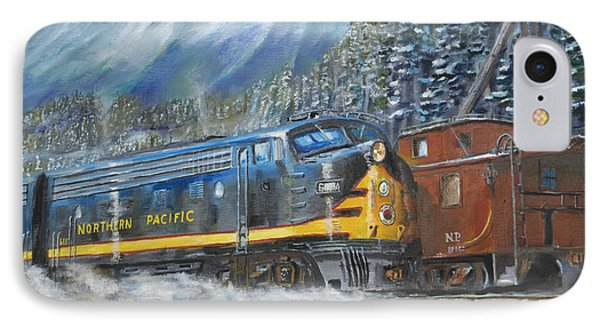 December On Stampede Pass IPhone Case by Christopher Jenkins