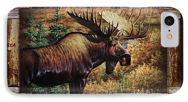 Deco Moose IPhone Case by JQ Licensing