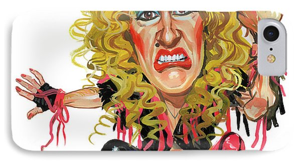 Dee Snider IPhone Case by Art