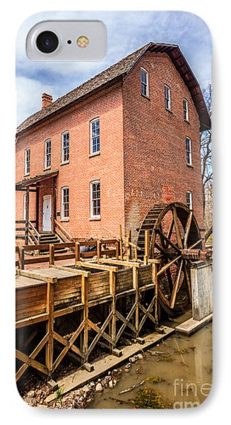 Deep River Grist Mill In Northwest Indiana Phone Case by Paul Velgos
