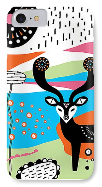 Deery Me Phone Case by Susan Claire