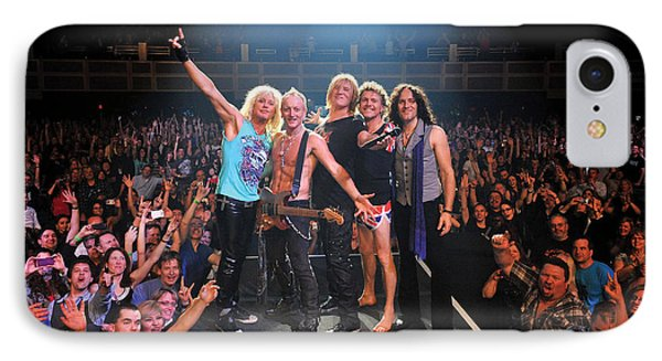 Def Leppard - Viva! Hysteria At The Hard Rock 2013 IPhone 7 Case by Epic Rights