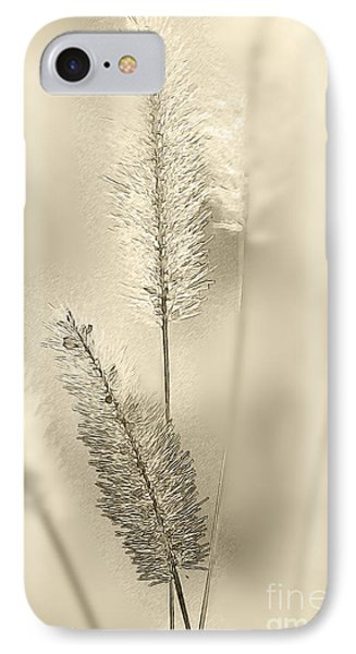 Delicate Sweetgrass Phone Case by Heiko Koehrer-Wagner