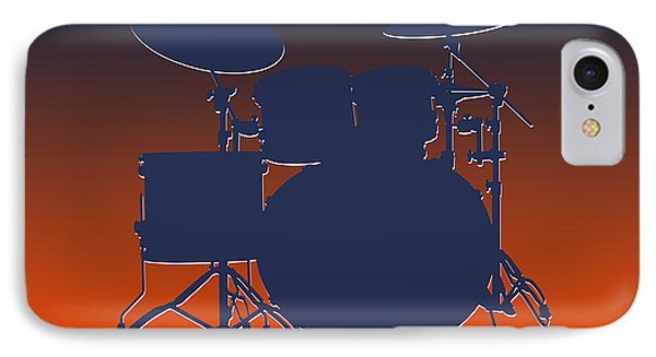 Denver Broncos Drum Set IPhone 7 Case by Joe Hamilton