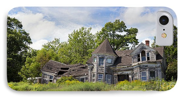 Derelict House IPhone Case by Jane Rix
