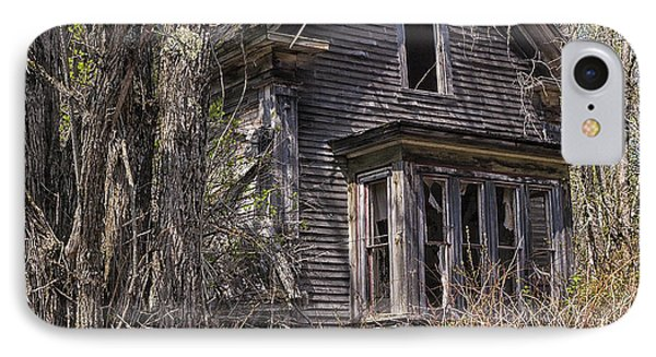 Derelict House IPhone Case by Marty Saccone