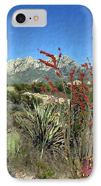Desert Bloom Phone Case by Kurt Van Wagner