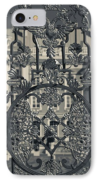Detail Of The Palace Gate, Catherine IPhone Case by Panoramic Images