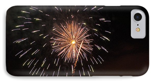Detroit Area Fireworks -10 Phone Case by Paul Cannon