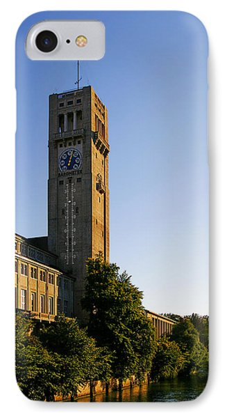 Deutsches Museum Munich - Meteorological Tower Phone Case by Christine Till