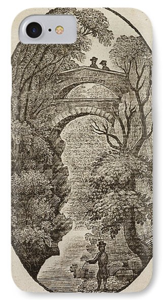 Devil's Bridge In Cardiganshire IPhone Case by British Library