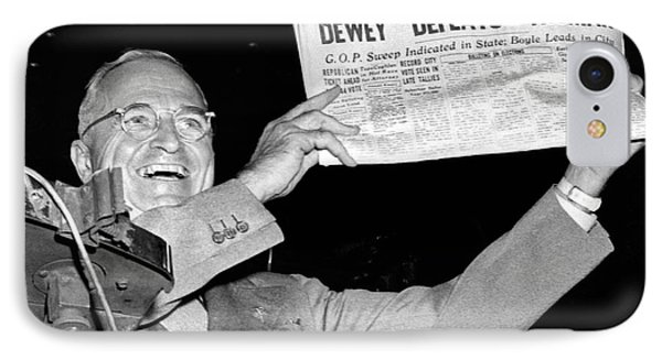 Dewey Defeats Truman Newspaper IPhone Case by Underwood Archives