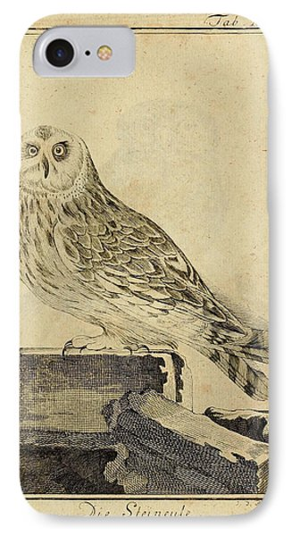Die Stein Eule Or Church Owl IPhone Case by Philip Ralley