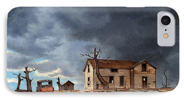 Different Day At The Homestead IPhone Case by Paul Krapf