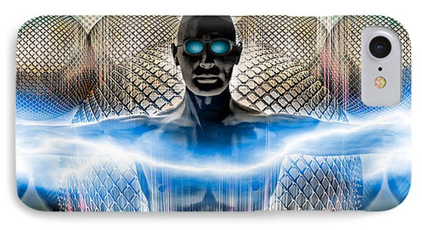 Digital Man IPhone Case by Panoramic Images