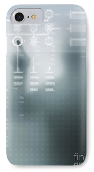 Digital User Interface IPhone Case by Carlos Caetano