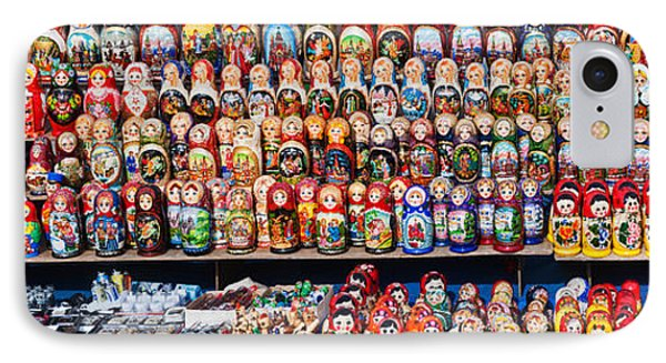 Display Of The Russian Nesting Dolls IPhone 7 Case by Panoramic Images