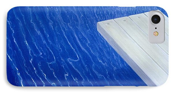 Diving Board 2004 IPhone Case by Lincoln Seligman