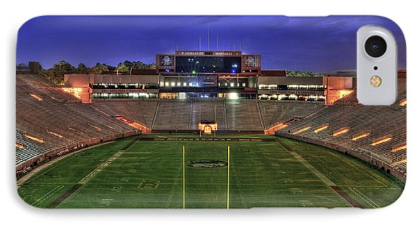 Doak Campbell Stadium IPhone Case by Alex Owen