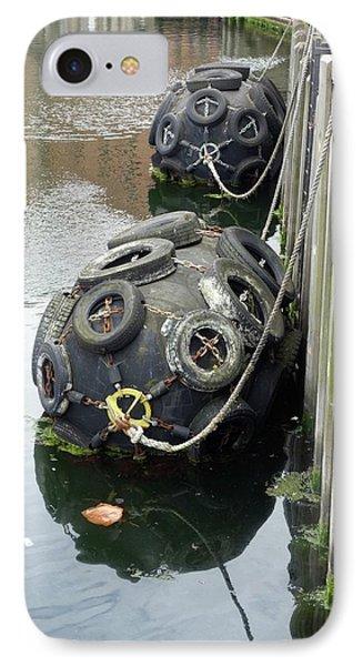 Dock Buoys IPhone Case by Cordelia Molloy