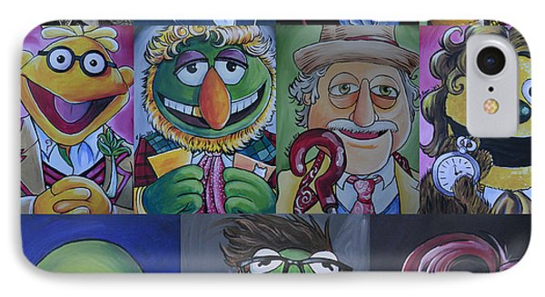 Doctor Who Muppet Mash-up IPhone Case by Lisa Leeman
