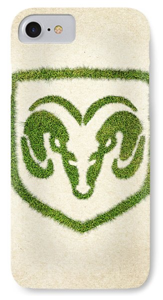 Dodge Grass Logo IPhone Case by Aged Pixel