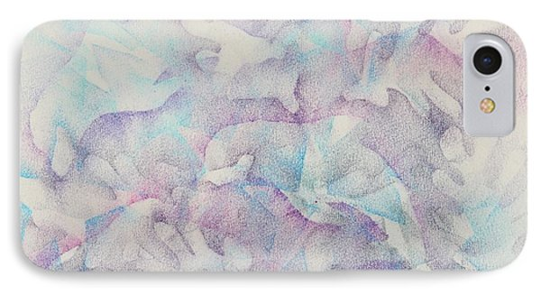 Dolphins At Play Phone Case by Veronica Rickard