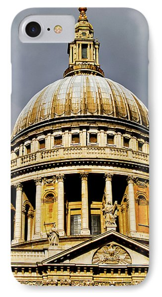 Dome Of St. Paul's Cathedral Phone Case by Christi Kraft