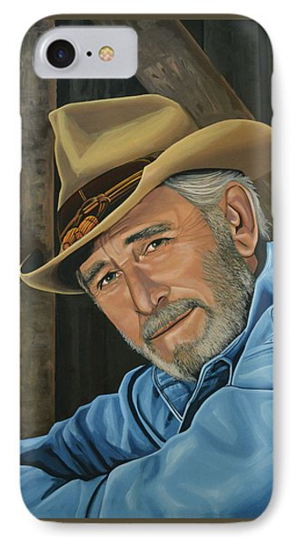 Don Williams Painting IPhone Case by Paul Meijering