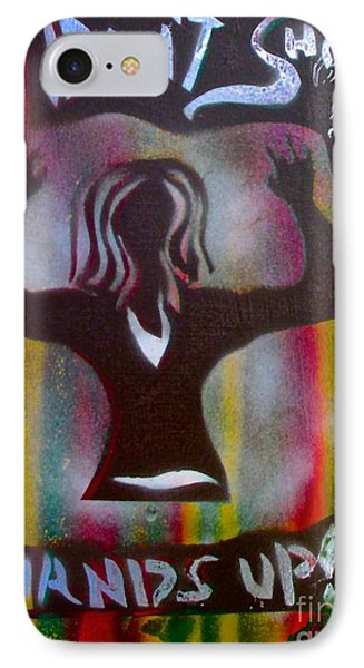 Don't Shoot Girl IPhone Case by Tony B Conscious