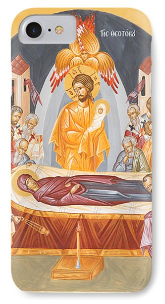 Dormition Of The Theotokos IPhone Case by Julia Bridget Hayes