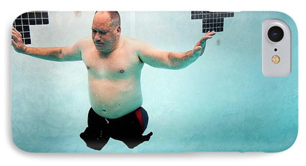 Double Amputee Swimmer IPhone Case by Us Air Force/mark Fayloga
