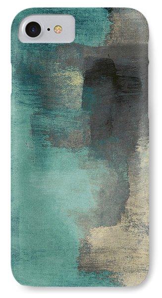 Downtown Blue Rain I IPhone 7 Case by Lanie Loreth