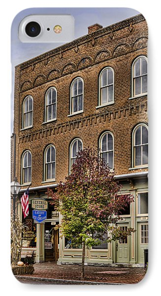 Dowtown General Store Phone Case by Heather Applegate
