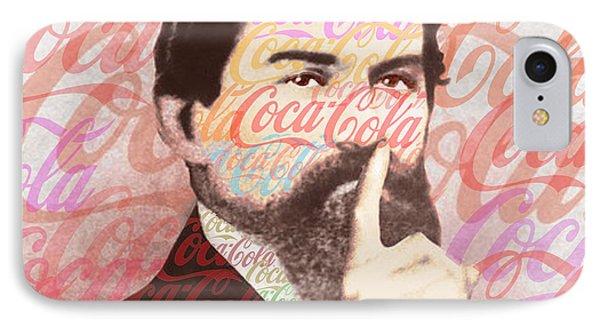 Dr. John Pemberton Inventor Of Coca-cola Phone Case by Tony Rubino