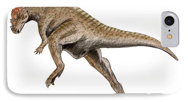 Dracorex Dinosaur IPhone Case by Nobumichi Tamura
